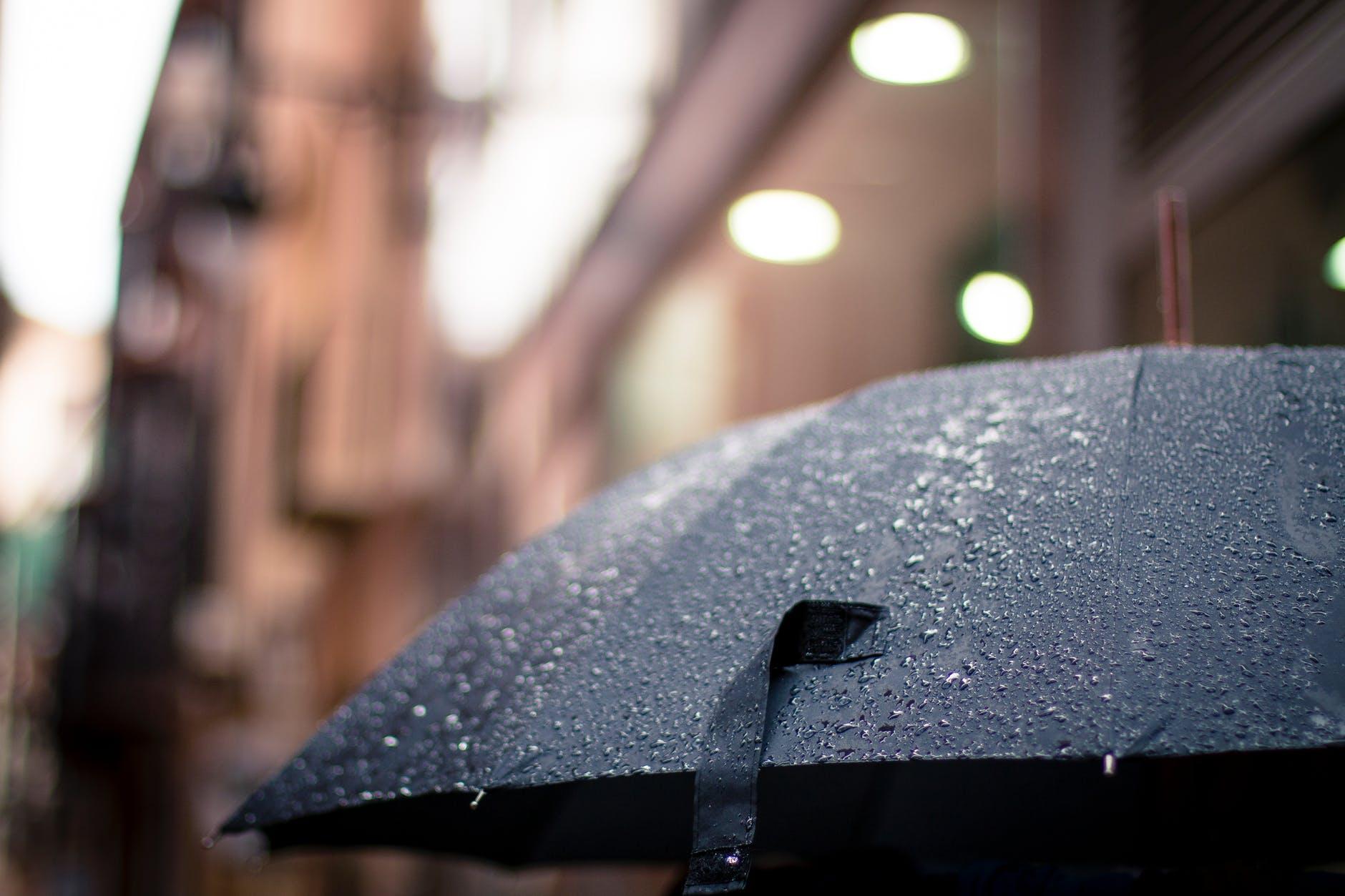 rainy rain umbrella weather