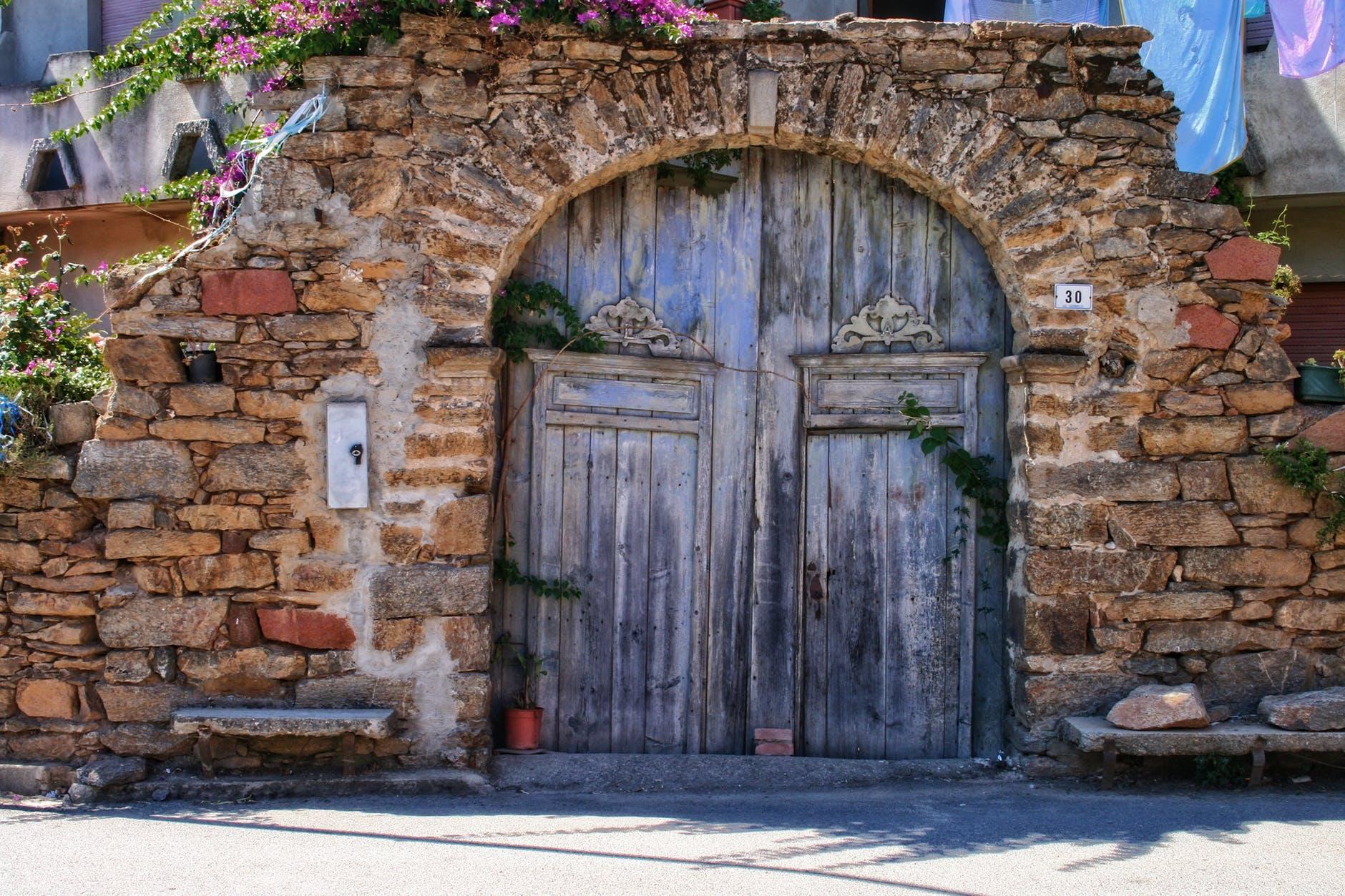 ancient architecture brick brick wall